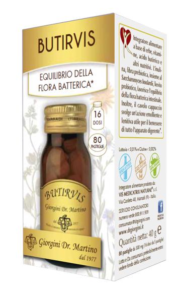 BUTIRVIS 80 PASTIGLIE - Farmacia della salute 360