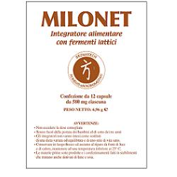 MILONET 12 CAPSULE - Farmabellezza.it