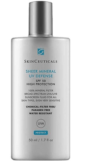 SHEER MINERAL UV DEFENSE SPF50 50 ML - Farmacia Castel del Monte