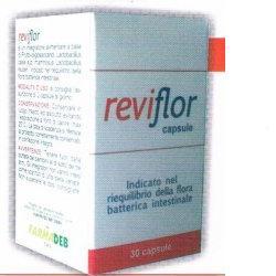 Reviflor Integratore Flora Batterica Intestinale 30 Capsule