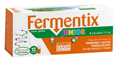 FERMENTIX JUNIOR 12 FLACONCINI 5 MILIARDI - Farmajoy
