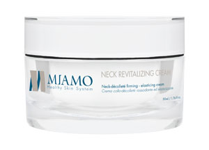 MIAMO LONGEVITY PLUS NECK REVITALIZING CREAM 50 ML CREMA COLLO-DECOLLETE RASSODANTE ELASTICIZZANTE - Farmajoy