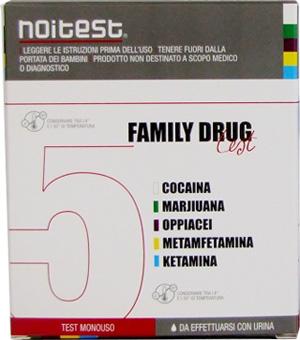 Family Drug Test Farmacia Test Anti Droga Su Urine Monouso