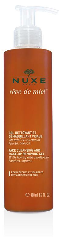 NUXE REVE DE MIEL GEL NETTOYANT ET DEMAQUILLANT VISAGE 200 ML - Farmabellezza.it