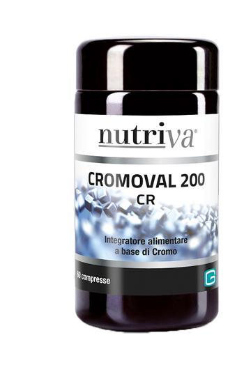 NUTRIVA CROMOVAL 200 60 COMPRESSE - Farmastar.it