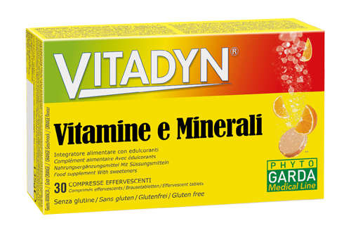 VITADYN VITAMINE/MINERALI 30 COMPRESSE EFFERVESCENTI - Farmafirst.it