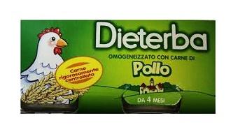 DIETERBA OMOGENEIZZATO POLLO 3 PEZZI 80 G - farmaciadeglispeziali.it