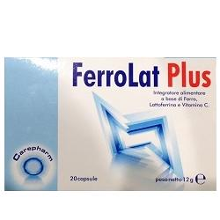 FERROLAT PLUS 20 CAPSULE - Farmaci.me