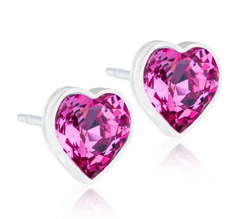 Image of BLOMDAHL GIOIELLO MP HEART 6MM ROSE