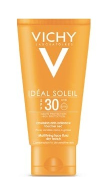 IDEAL SOLEIL VISO DRY TOUCH SPF30 50 ML - Farmaunclick.it