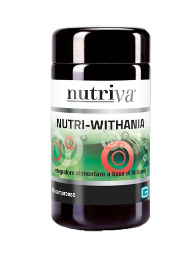 NUTRIVA NUTRI WITHANIA 60 COMPRESSE - Farmastop