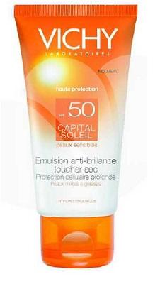 IDEAL SOLEIL VISO DRY TOUCH SPF50 50 ML - Farmacia Massaro