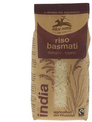 RISO BASMATI INDIA BIO 500 G - Farmajoy