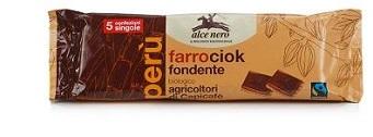 FARROCIOK FONDENTE BIO FAIRTRADE 5 X 28 G - pharmaluna
