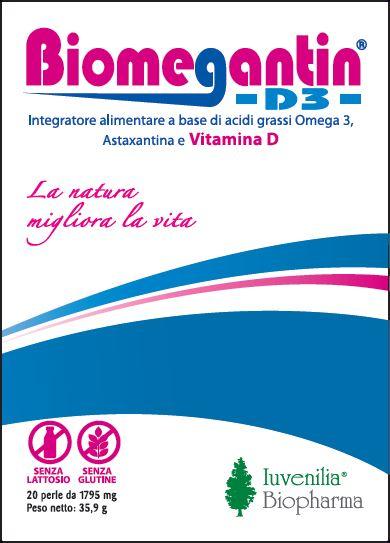 BIOMEGANTIN D3 20 PERLE - Farmaseller