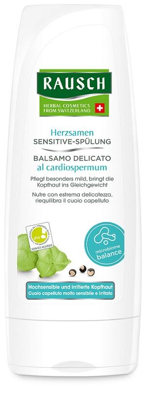 RAUSCH BALSAMO DELICATO AL CARDIOSPERMUM IPOALLERGENICO 200 ML - Sempredisponibile.it