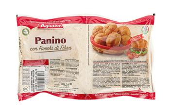 AGLUTEN IL PANE QUOTIDIANO PRONTO ALL'USO IL PANINO 120 G