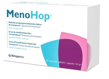 METAGENICS MENOHOP 90 CAPSULE - Farmastar.it