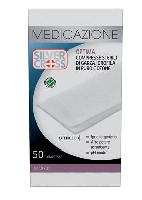 Garza Silvercross Cotone 10 x 10cm 50 Pezzi - Sempredisponibile.it