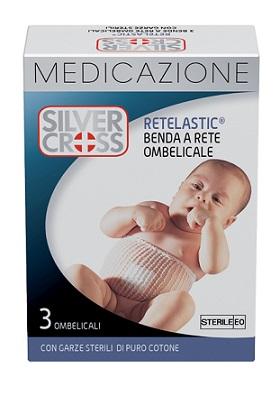 SILVERCROSS RETELASTIC MEDICAZIONE OMBELICALE 3 PEZZI - Carafarmacia.it