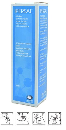 SOLUZIONE IPERTONICA IPERSAL SPRAY NASALE 50 ML - FARMAEMPORIO
