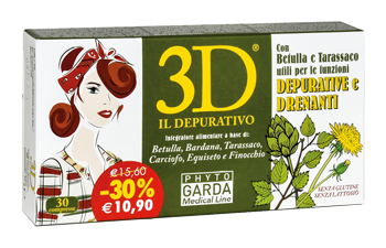 3D IL DEPURATIVO 30 COMPRESSE - Speedyfarma.it