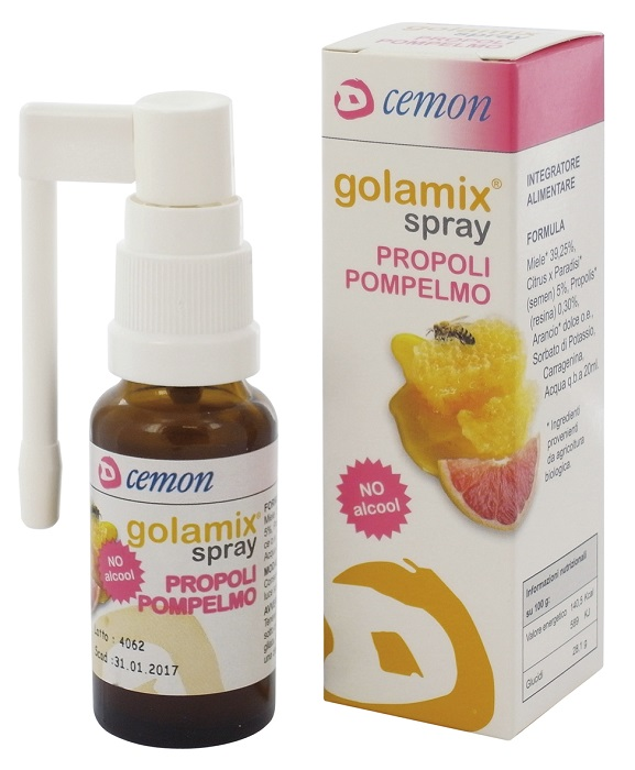 GOLAMIX SPRAY PROPOLI POMPELMO 20 ML