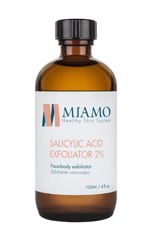 MIAMO TOTAL CARE SALICYLIC ACID EXFOLIATOR 2% 120 ML ESFOLIANTE VISO-CORPO - Farmajoy