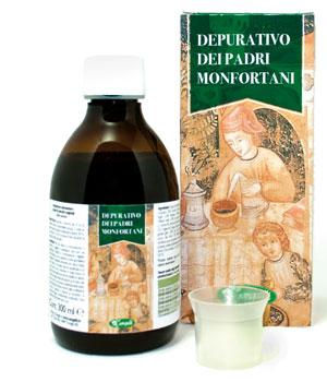 DEPURATIVO PADRI MONFORTANI 300 ML - keintegratore.com