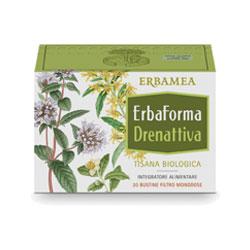 ERBAFORMA DRENATTIVA TISANA 20 BUSTINE 1,5 G - Farmastar.it