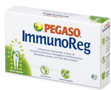 Pegaso Imunoreg Integratore Di Estratti Vegetali 40 Capsule