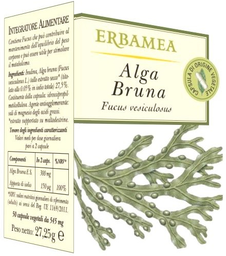 ALGA BRUNA 50 OPERCOLI - Farmaciasvoshop.it