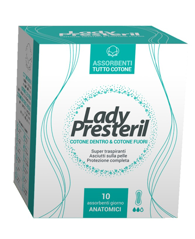 LADY PRESTERIL ANATOMICO POCKET 10 PEZZI - Farmapage.it