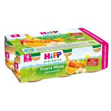 HIPP BIO OMOGENEIZZATO FRUTTA MISTA 6X80 G - farmaciafalquigolfoparadiso.it