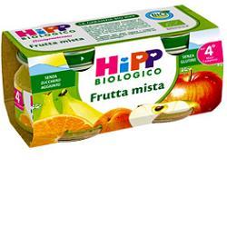 HIPP BIO OMOGENEIZZATO FRUTTA MISTA 100% 2X80 G - Farmapass