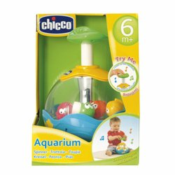 CHICCO GIOCO AQUARIUM SPINNER - Farmafamily.it