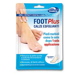 URADERM FOOT PLUS CALZE ESFOLIANTI 2 PEZZI DA 20 ML - Farmafamily.it