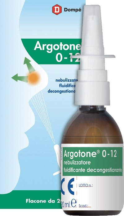 Argotone 0-12 Spray Nasale 20ml - Zfarmacia