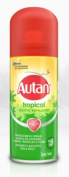 AUTAN TROPICAL SPRAY SECCO 100 ML - Zfarmacia