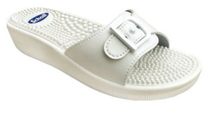 NEW MASSAGE SYNTHETIC LEATHER WOMENS WHITE FITNESS BIANCO 38 - Farmastar.it