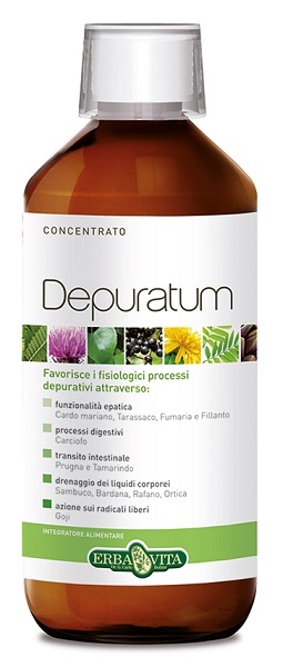 DEPURATUM LIQUIDO 10STICK - Farmafamily.it