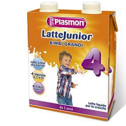 PLASMON LATTE JUNIOR LIQUIDO 500 ML X 2 PEZZI - Turbofarma.it
