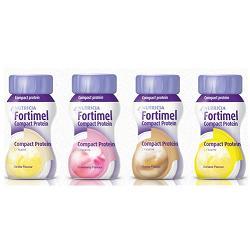 Nutricia Fortimel Compact Protein Integratore Alimentare Gusto Vaniglia 4x125ml - Zfarmacia
