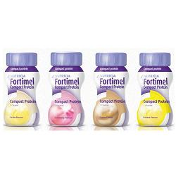 Fortimel Compact Protein Gusto Fragola 4 x 125 ml - Farmalilla