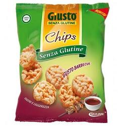 GIUSTO CHIPS BARBECUE 30 G - FARMAPRIME