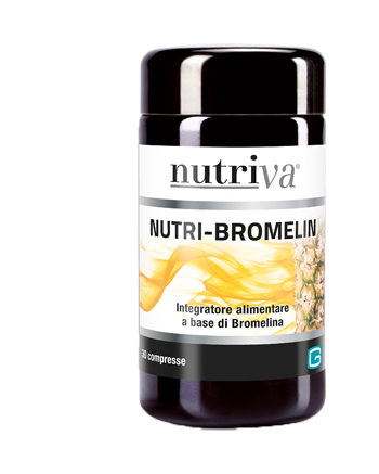 NUTRIVA NUTRI BROMELIN 30 COMPRESSE - Farmacia Castel del Monte