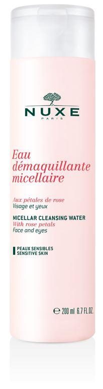 Nuxe Eau Demaquillante Acqua Micellare Ai Petali Di Rosa 200 ml - La tua farmacia online