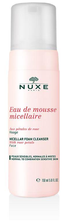 Nuxe Eau De Mousse Micellaire Detersione Delicata Viso ai Petali di Rosa 150 ml - La tua farmacia online