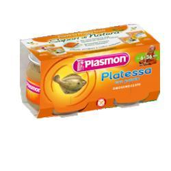 PLASMON OMOGENEIZZATO PLATESSA 2 X 80 G - Turbofarma.it