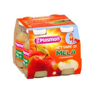 Plasmon Nettare Di Frutta Mela 6x120ml - La farmacia digitale